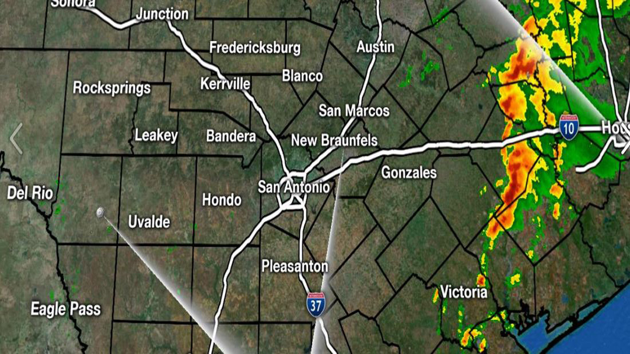 Ksat Weather Showers Possible Monday Afternoon