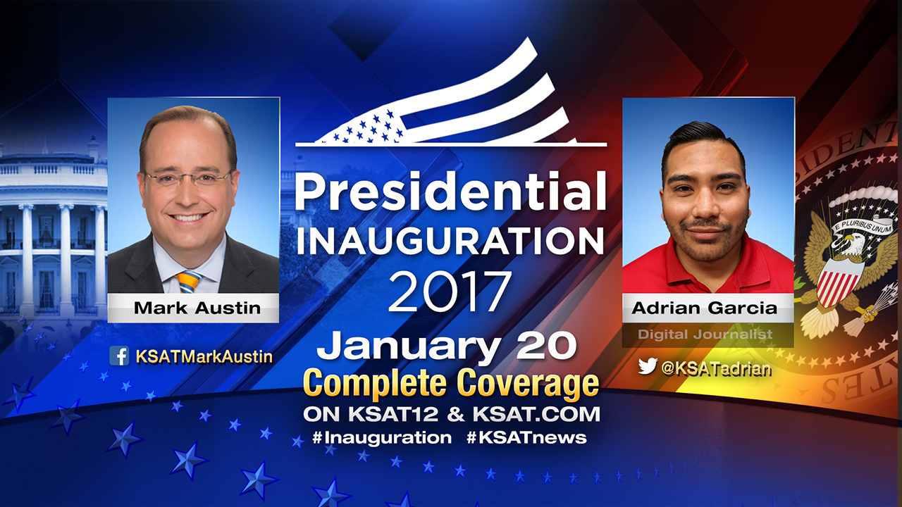 Ksat 12 Covers 45th Presidential Inauguration From