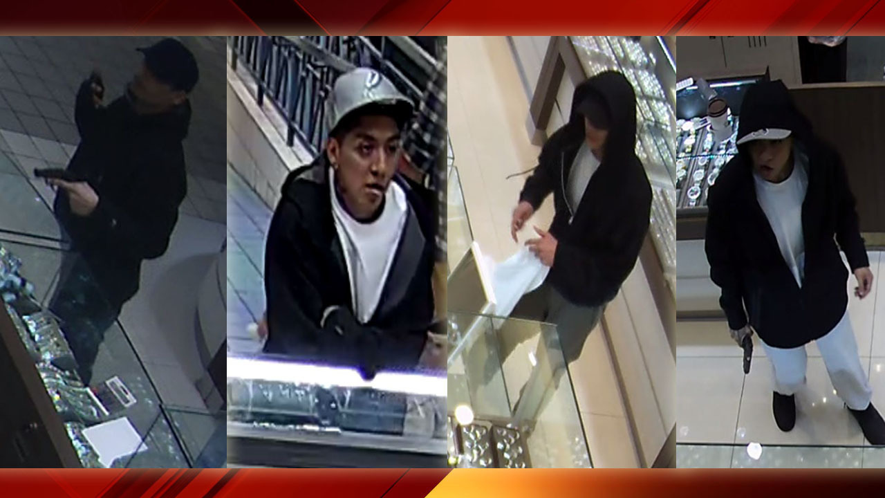 Sapd Releases Images Of South Park Mall Jewelry Store Theft