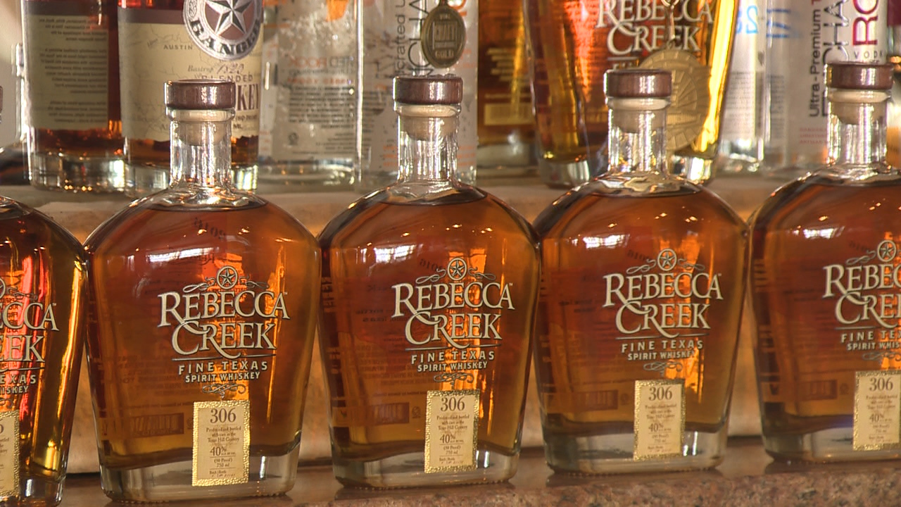 Rebecca Creek Distillery Prepares Special Drink For Super Bowl