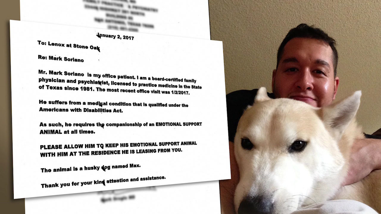 Veteran Told Emotional Support Dog Not Welcome In New Apartment