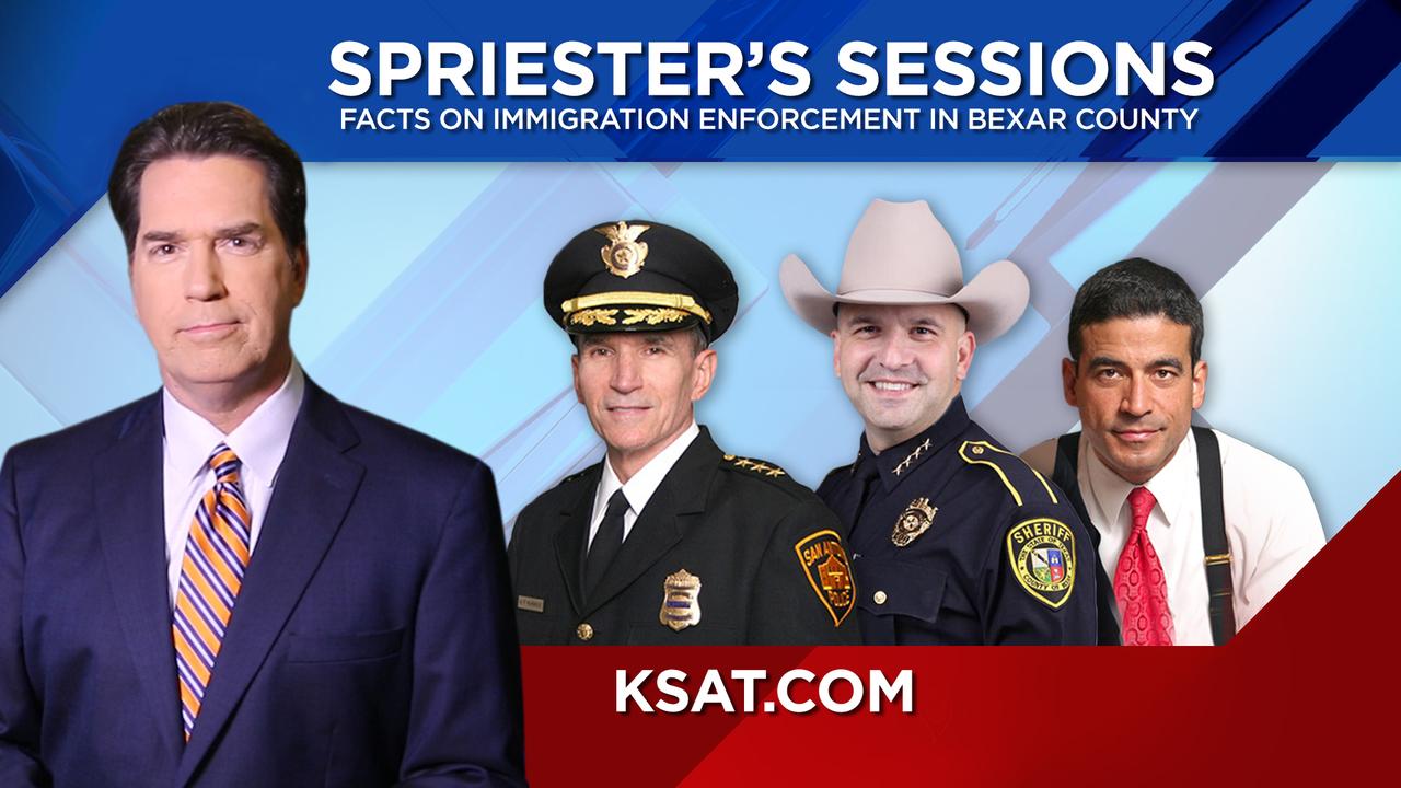 San Antonio Bexar County Law Enforcement Officials Dig