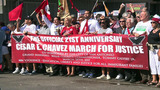 Thousands participate in 21st March of Justice to honor Cesar Chavez