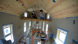 Warren HS students get hands-on learning building tiny houses