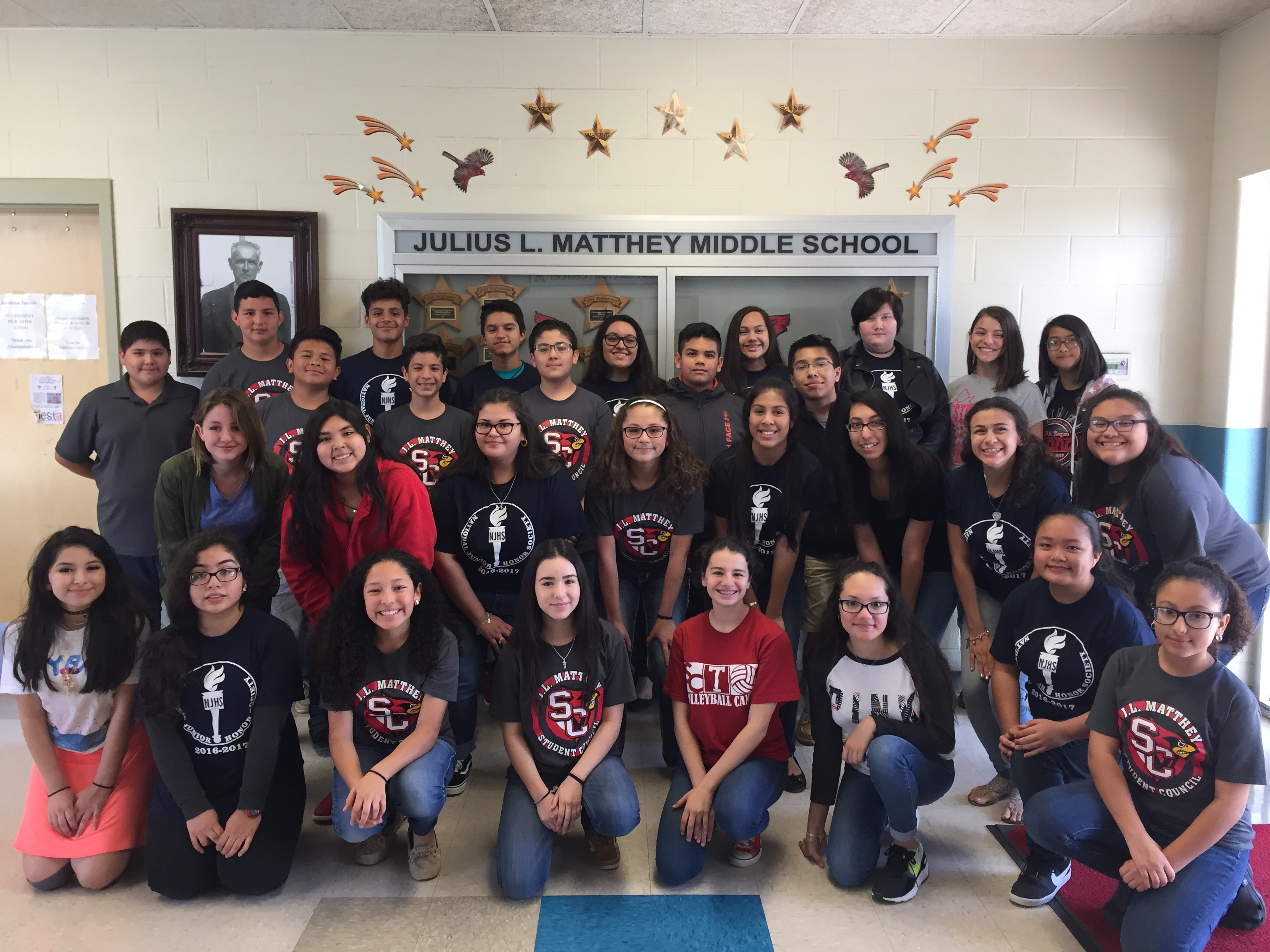 ... them by visiting local community colleges and four-year universities in San  Antonio. We support them as they look to their futures after high school.