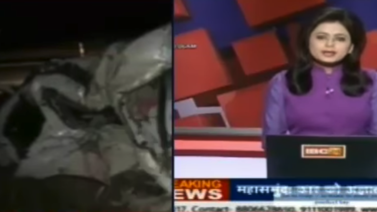India News Anchor Learns Of Husband S Death On Live Tv