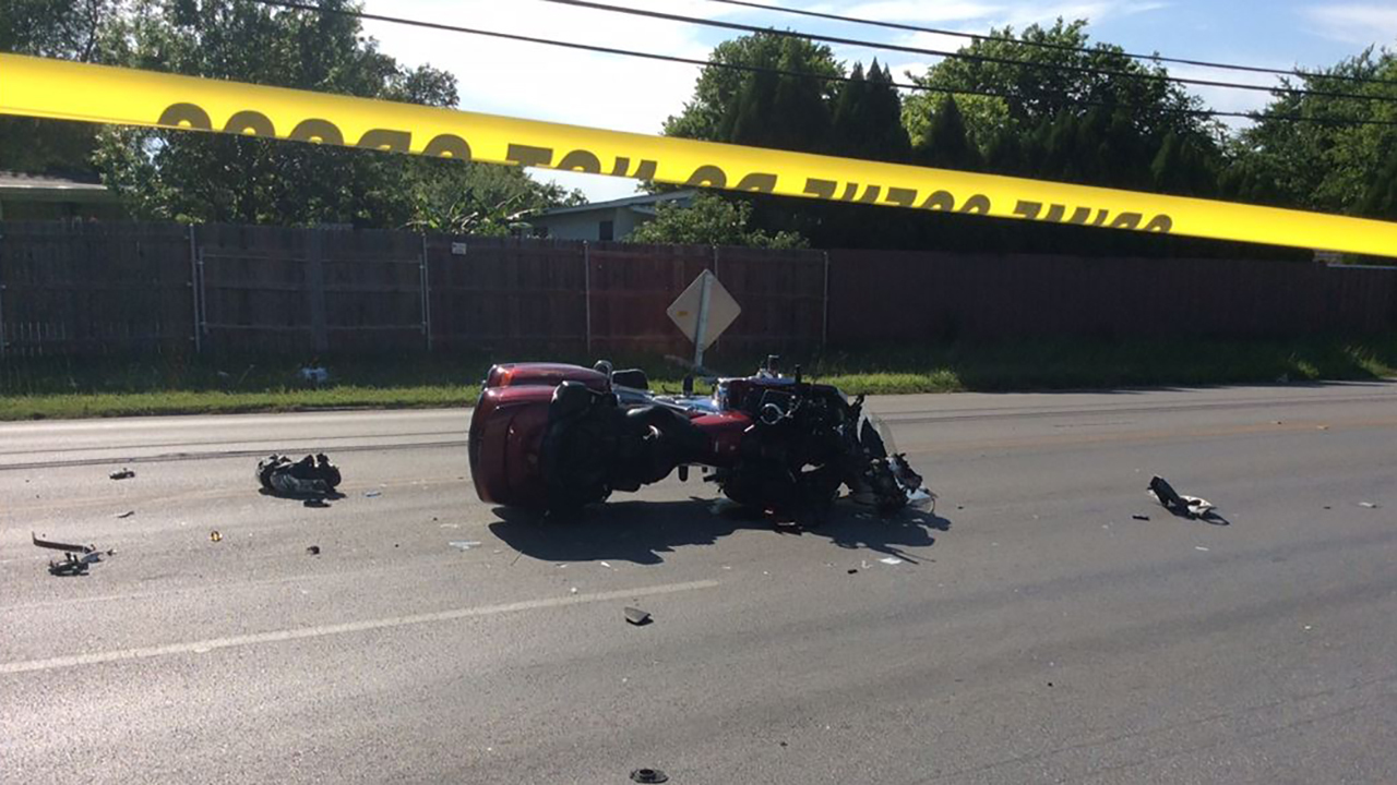 Motorcyclist Critically Injured In North Side Crash