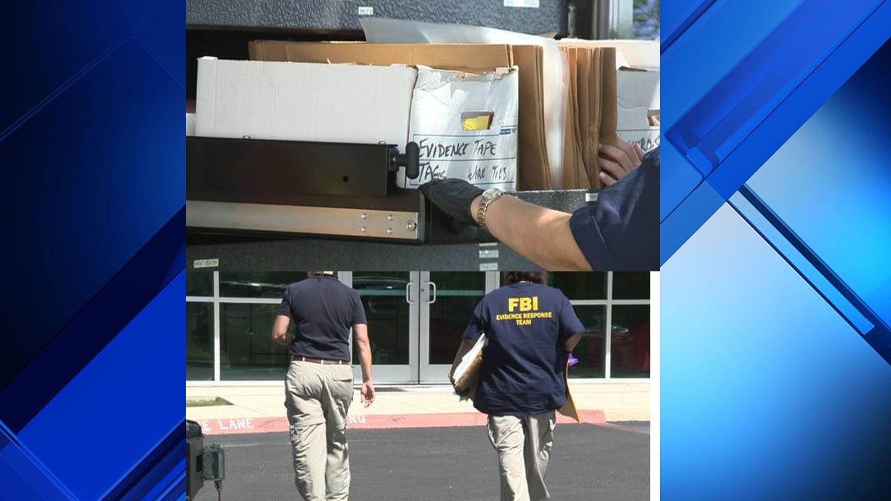 Federal Bureau of Investigation raiding Laredo City Hall, county courthouse
