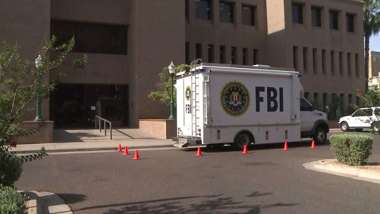 Fbi Lawfully Present At Laredo City Hall