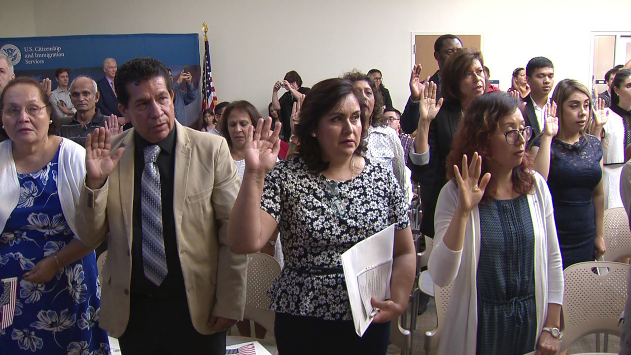 50 immigrants sworn in as new American citizens in San Antonio