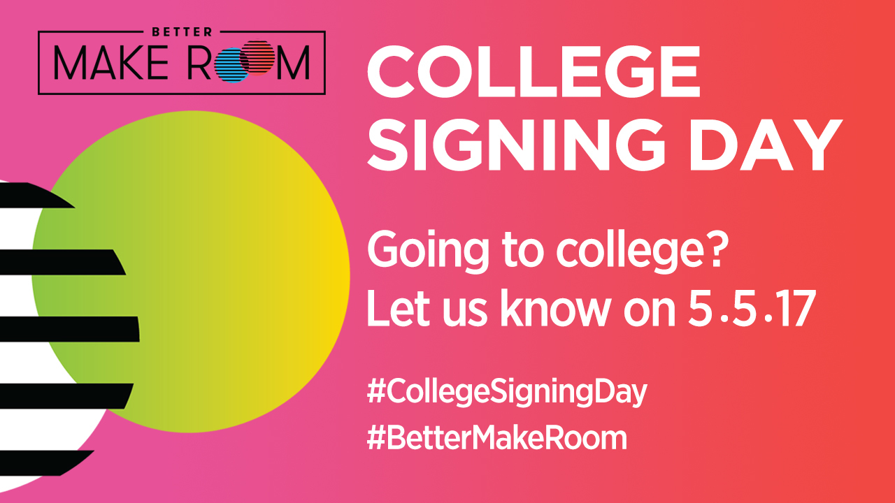 College Signing Day Better Make Room
