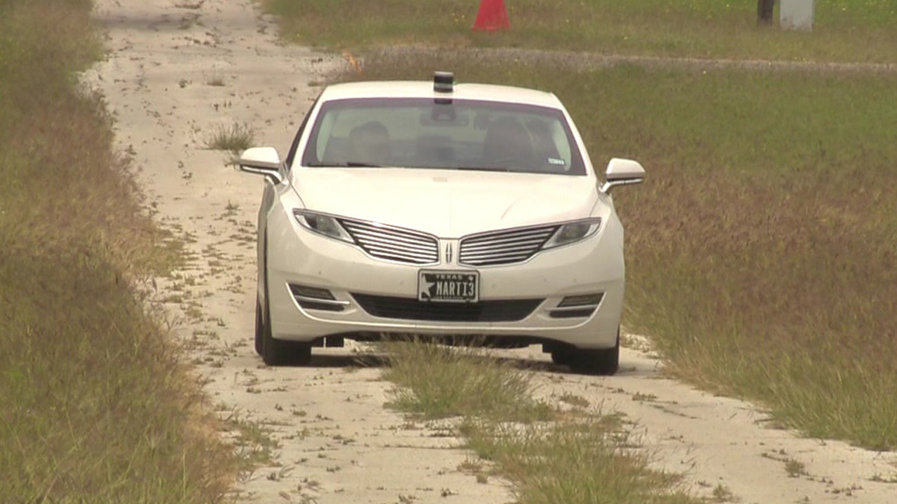 Video Thumbnail For Federal Government Roves Area Of Fredericksburg Road Testing Automated Vehicles