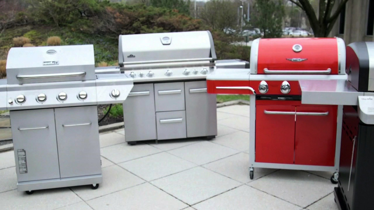 consumer reports puts gas grills to test. Black Bedroom Furniture Sets. Home Design Ideas