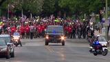 Crowds march to honor fallen SAFD firefighter Scott Deem