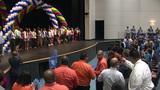 HS seniors surprised with special graduation ceremony
