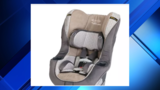 Graco recalls car seats&#x3b; webbing may not hold child in crash