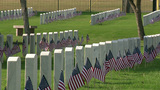 Boy Scouts, Girl Scouts place flags at headstones at Fort Sam Houston&hellip&#x3b;