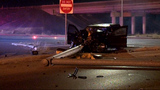 2 seriously injured after crashing into pole