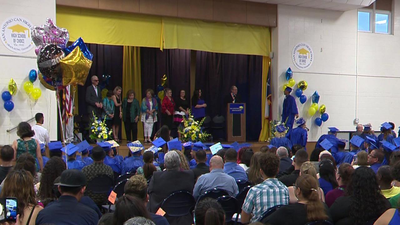 75 Students Graduate From San Antonio Can High School