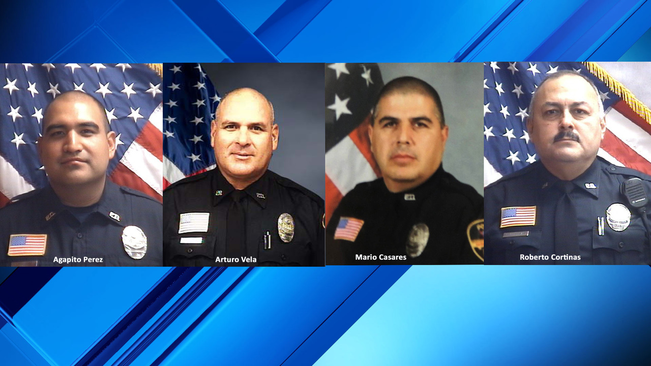 1 of 3 wounded Texas officers discharged from hospital