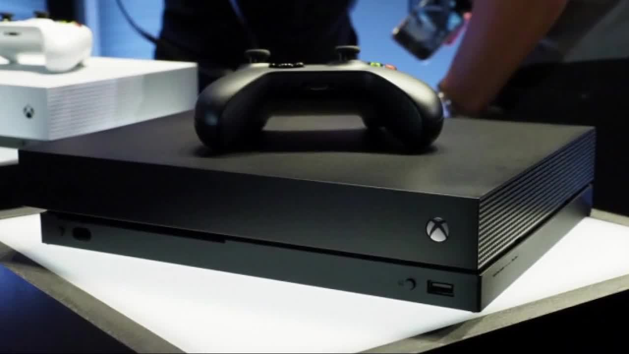 Microsoft Unveils New Xbox One X Video Game Console