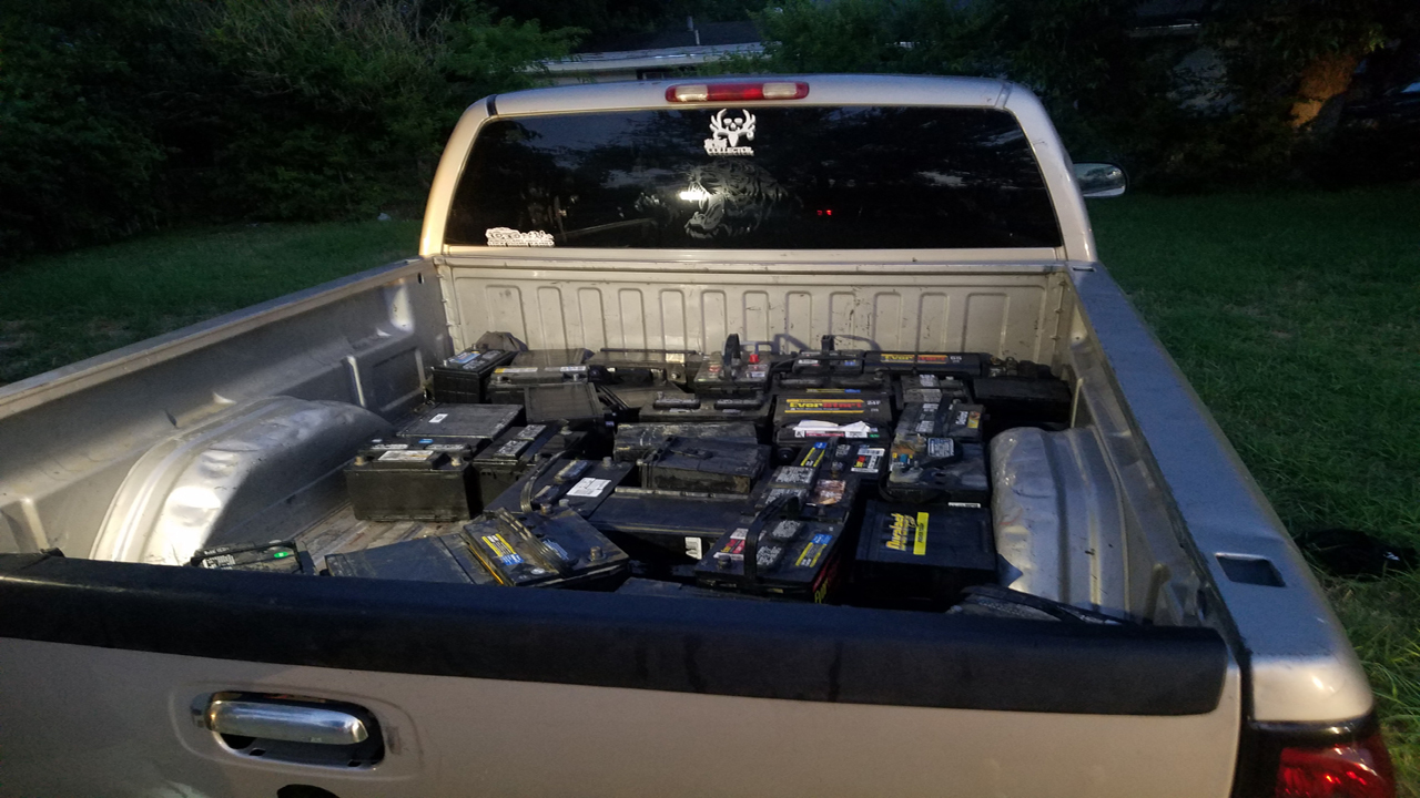 How To Find A Stolen Car >> Police find stolen car batteries, search for theft