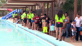 More than 600 SA children join in on world's biggest swimming lesson