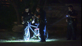 Burglary suspect falls off bicycle during escape, police say