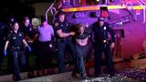 Man found on train tracks arrested