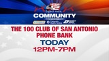 KSAT 12, 100 Club of SA host phone bank