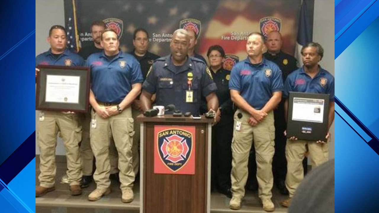 SAFD recognized with two EMS awards