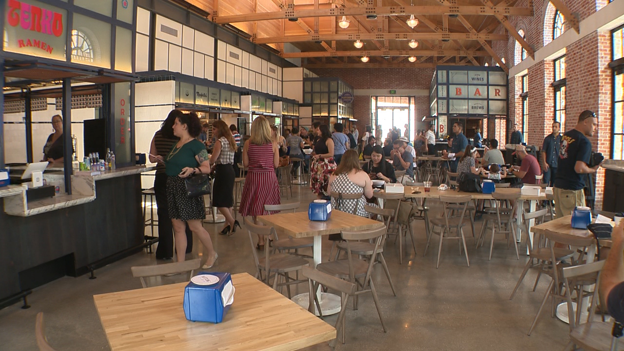 New Food Hall At The Pearl Now Open