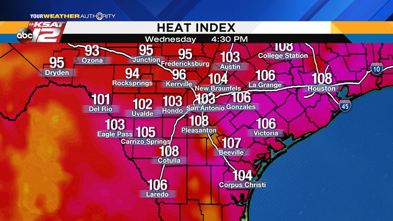 San Antonio S Going On A Week Of Triple Digit Heat