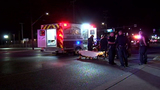 Two pedestrians injured in hit-and-run