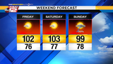 Weekend temps expected to break record highs&#x3b; heat advisory issued ahead&hellip&#x3b;
