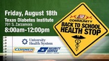 "KSAT Community hosts ""Back to School Health Stop"""