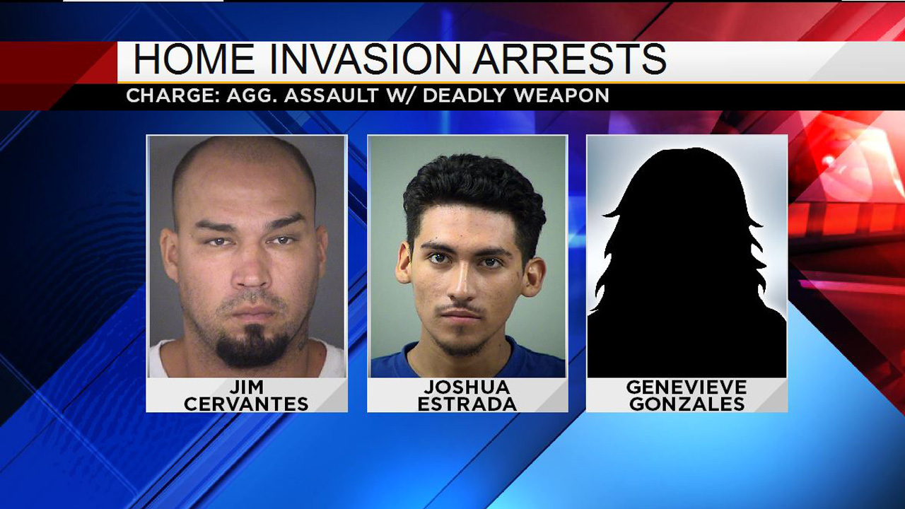 3 arrested after home invasion on San Antonio's West Side