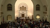 Members of Jewish temple gather to stand against hatred