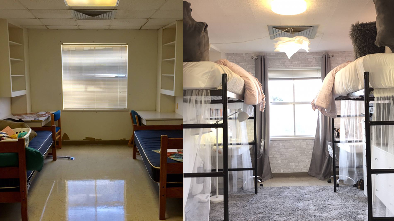 Get This Look: Texas State Students Deck Out Their Dorm Room. Part 73