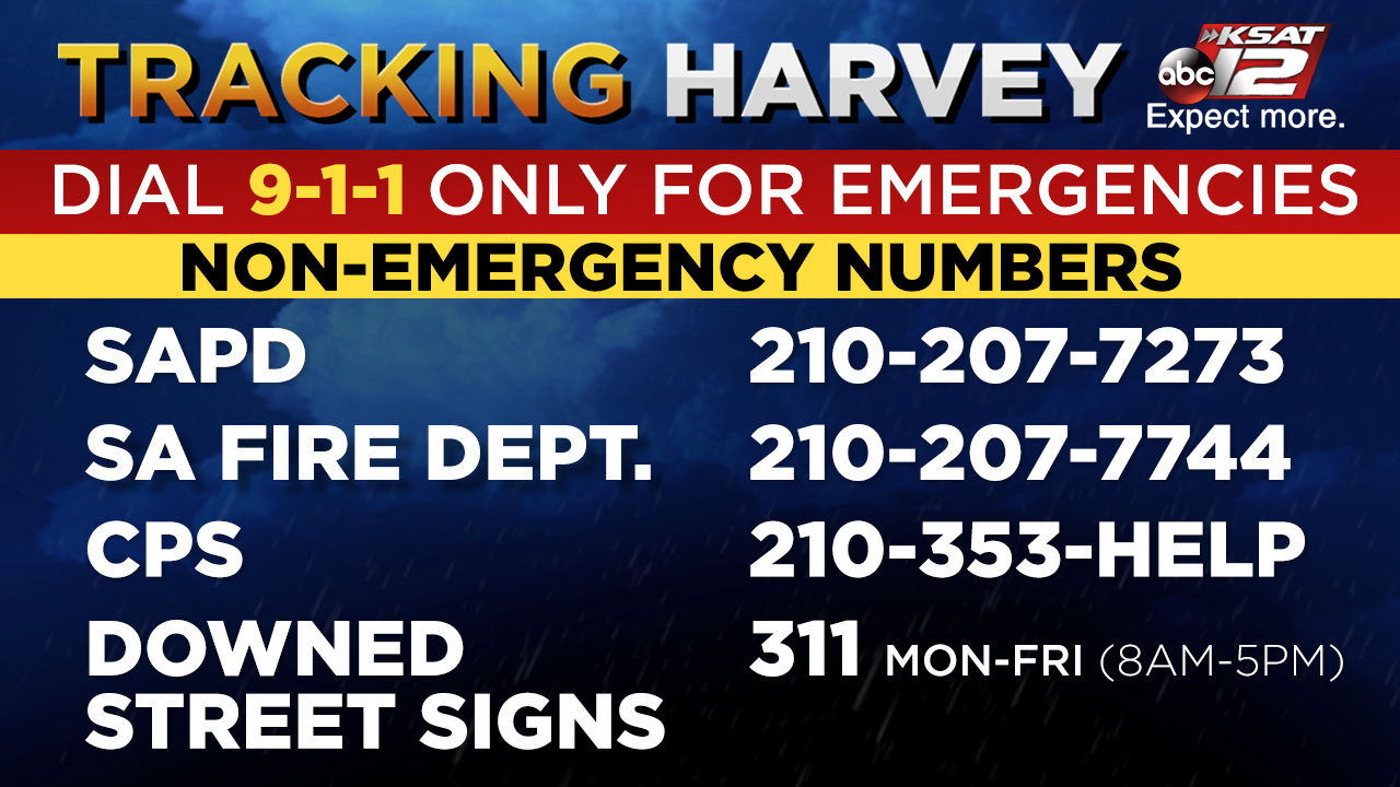Non-emergency numbers for San Antonio services