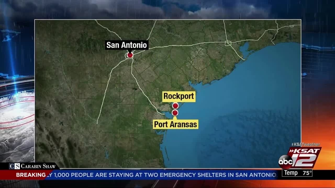 Port Aransas hit hard by Hurricane Harvey