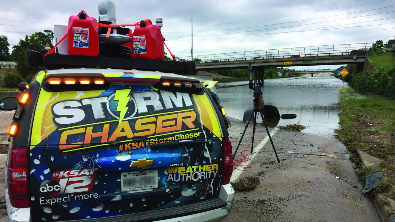 live  follow ksat storm chaser during severe weather