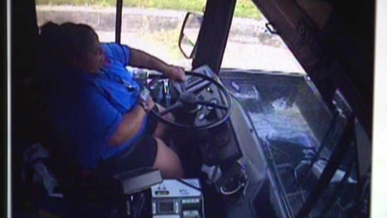 Video Shows Via Bus Drift Across Lane Before Causing 5