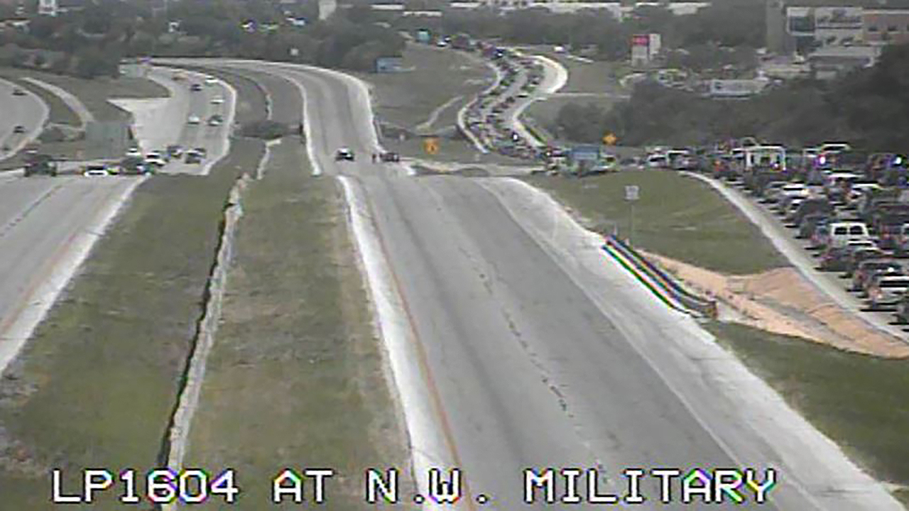 Man jumps to death, causes major back up at Loop 1604 and...