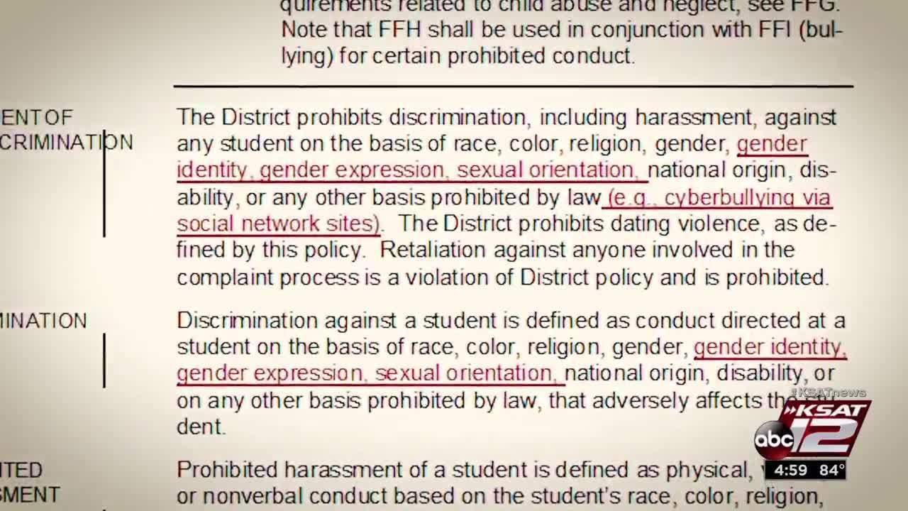 Define discriminated against sexual orientation