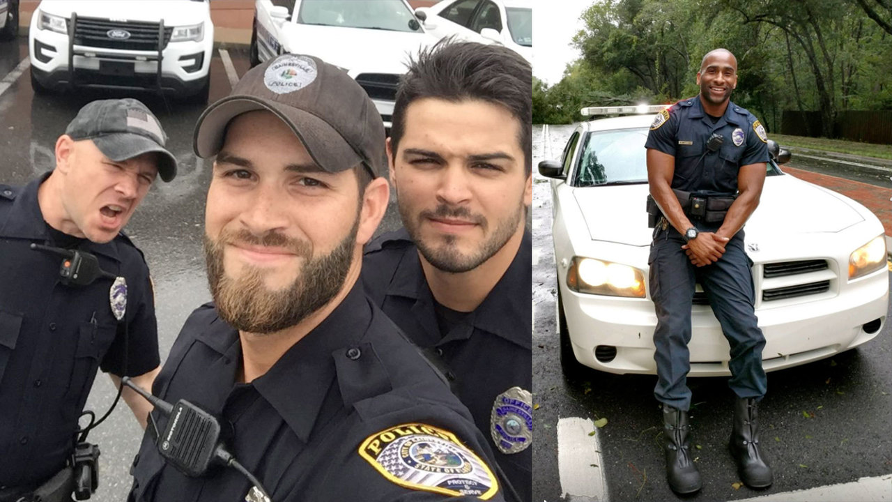 Gas Prices In Florida >> Hot cops grab internet's attention