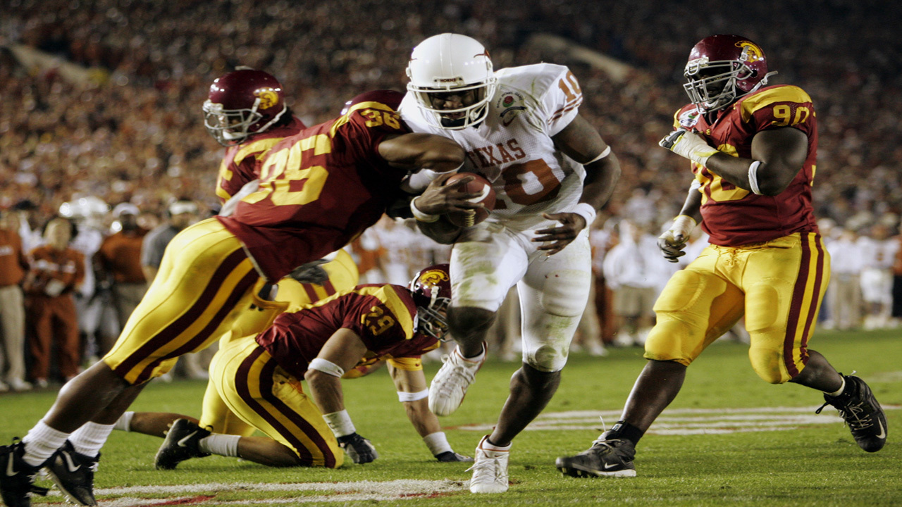 usc u0027s media guide says texas didn u0027t beat them for 2005