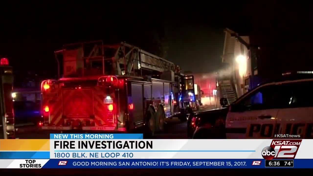 Electrical Fire Damages Apartment Complex On Ne Side