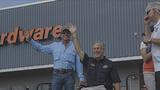 Abbott, Strait visit hurricane victims in Rockport