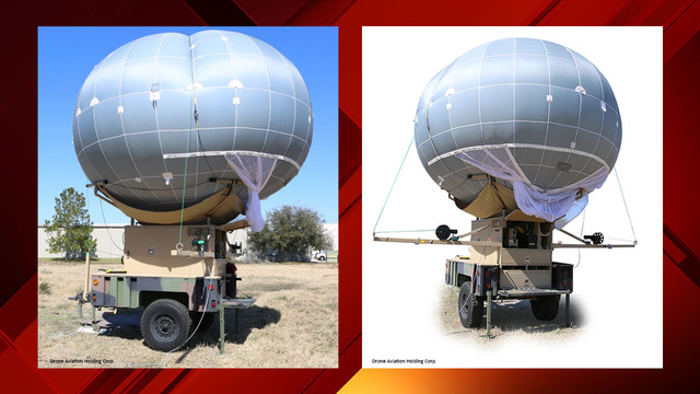 border wall drone balloon still